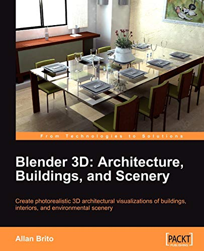 9781847193674: Blender 3D Architecture, Buildings, and Scenery