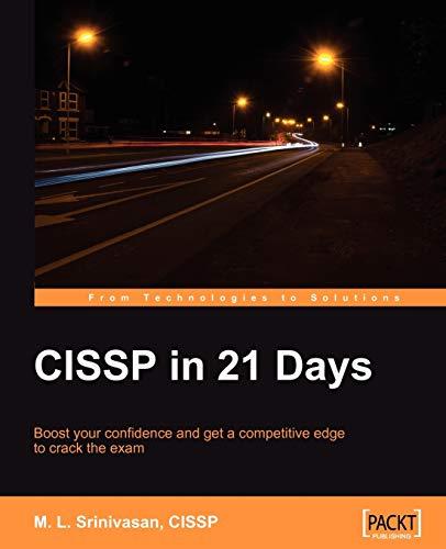 CISSP in 21 Days: Srinivasan, M. L.