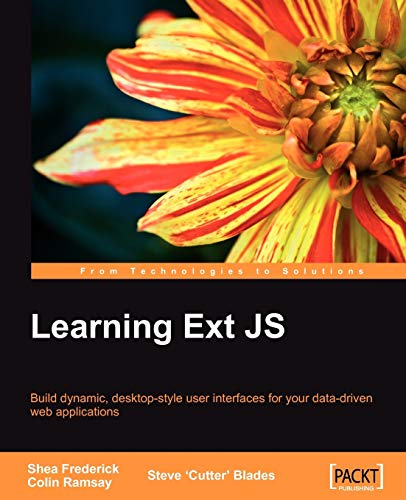 9781847195142: Learning Ext JS