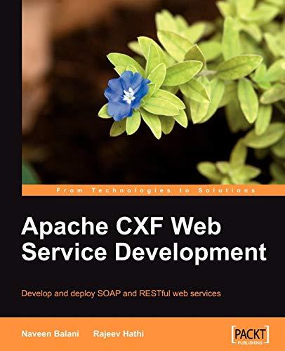 9781847195401: Apache CXF Web Service Development