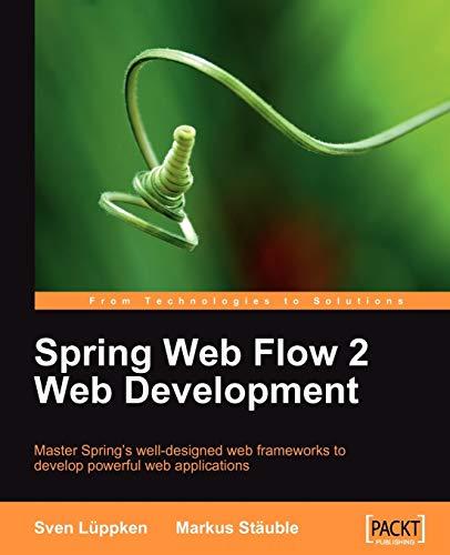 9781847195425: Spring Web Flow 2 Web Development