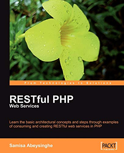 9781847195524: RESTful PHP Web Services