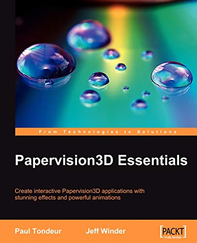 9781847195722: Papervision3D Essentials