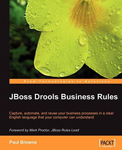 9781847196064: JBoss Drools Business Rules