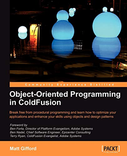 9781847196323: Object-Oriented Programming in ColdFusion