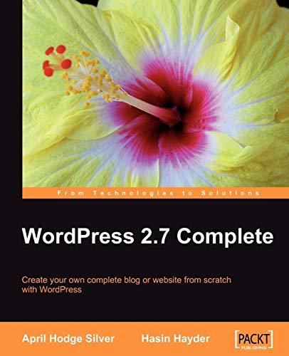 9781847196569: WordPress 2.7 Complete