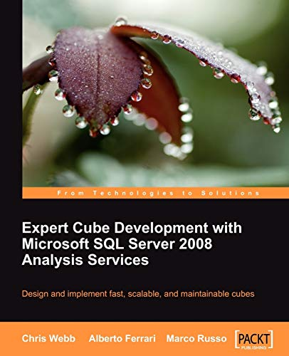 9781847197221: Expert Cube Development with Microsoft SQL Server 2008 Analysis Services