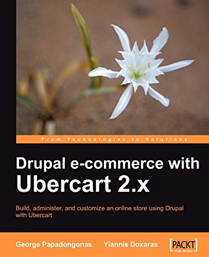 9781847199201: Drupal E-commerce with Ubercart 2.x
