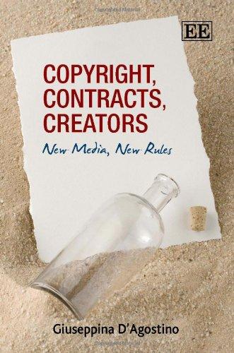 9781847201065: Copyright, Contracts, Creators: New Media, New Rules