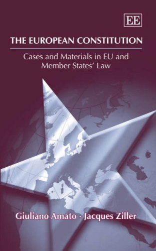 The European Constitution: Cases and Materials in: Giuliano Amato; Jacques