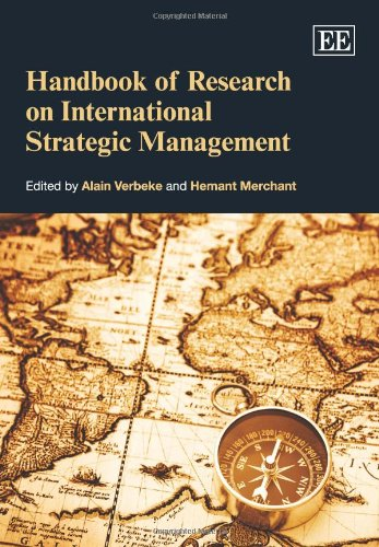 9781847201935: Handbook of Research on International Strategic Management (Elgar Original Reference) (Research Handbooks in Business and Management Series)