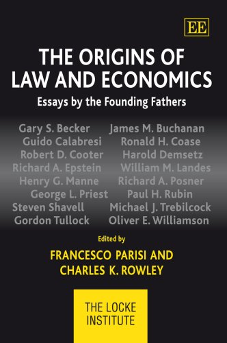 9781847203205: The Origins of Law and Economics: Essays by the Founding Fathers (Locke Institute)