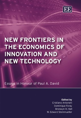 9781847203236: New Frontiers in the Economics of Innovation and New Technology: Essays in Honour of Paul A. David