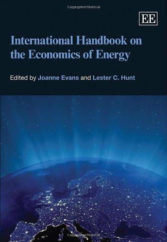 9781847203526: International Handbook on the Economics of Energy