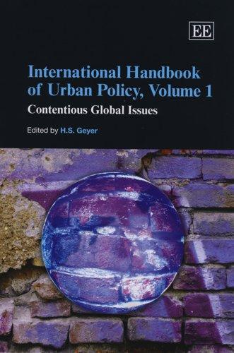 International Handbook of Urban Policy (Hardcover): H.s. Geyer