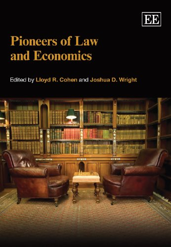 9781847204790: Pioneers of Law and Economics