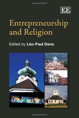 Entrepreneurship and Religion: Dana, Leo Paul (EDT)