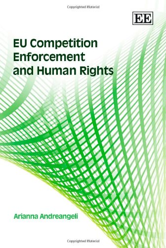 9781847206329: EU Competition Enforcement And Human Rights