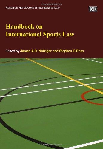 Handbook on International Sports Law (Hardback)