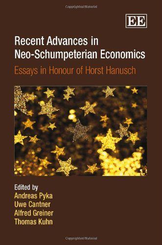 9781847206633: Recent Advances in Neo-Schumpeterian Economics: Essays in Honour of Horst Hanusch