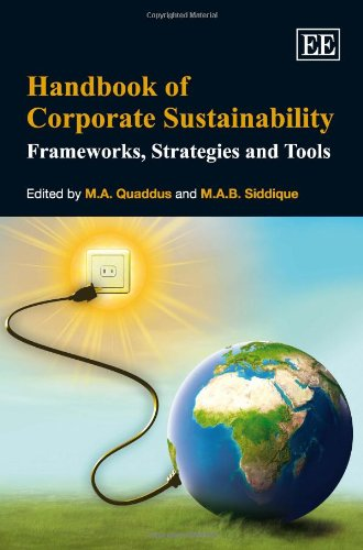9781847208057: Handbook of Corporate Sustainability: Frameworks, Strategies and Tools (Research Handbooks in Business and Management Series)