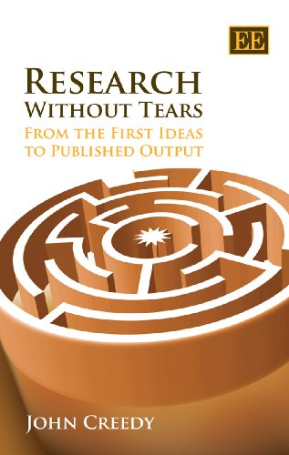 9781847208149: Research Without Tears: From the First Ideas to Published Output