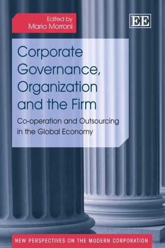 9781847208200: Corporate Governance, Organization and the Firm: Co-operation and Outsourcing in the Global Economy (New Perspectives on the Modern Corporation)