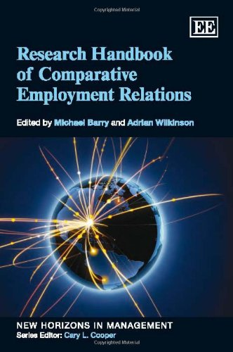 Research Handbook of Comparative Employment Relations: Michael Barry