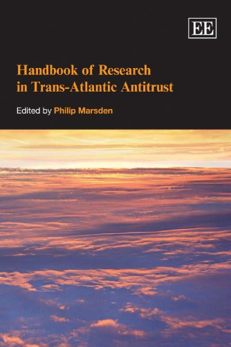 9781847209450: Handbook of Research in Trans-Atlantic Antitrust (Elgar Original Reference)