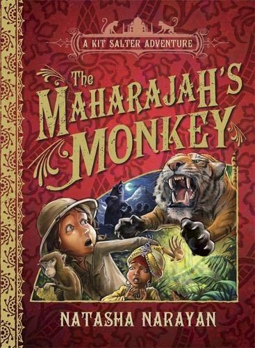9781847245298: The Maharajah's Monkey (A Kit Salter Adventure)