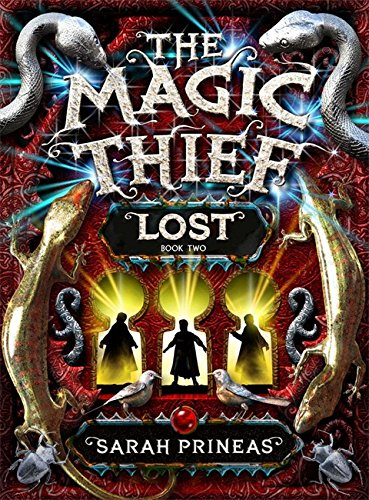 The Magic Thief LOST SIGNED**DATED**RUNED: Sarah Prineas