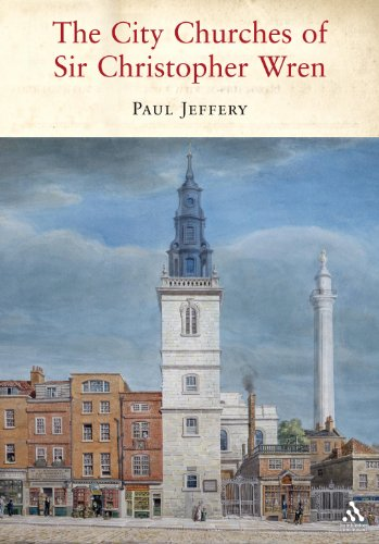 9781847250148: The City Churches of Sir Christopher Wren