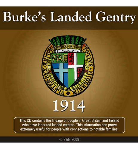 9781847275110: Burke's Landed Gentry 1914