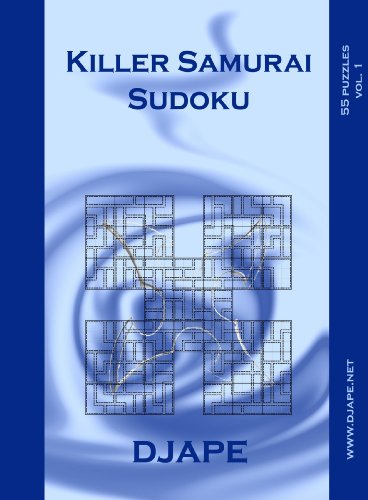 9781847280893: Killer Samurai Sudoku: 55 puzzles (vol.1)