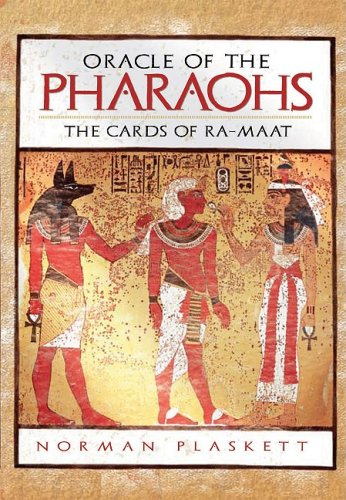 9781847320513: Oracle of the Pharaohs: The Cards of Ra-Maat [With 72 Divination Cards]