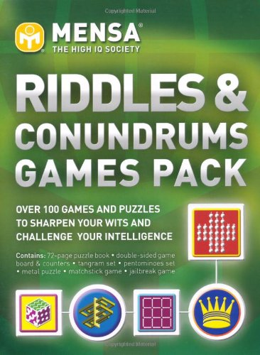"""9781847324504: """"Mensa"""" Riddles and Conundrums Pack"""