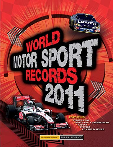 World Motor Sport Records 2011 (1847326137) by Jones, Bruce