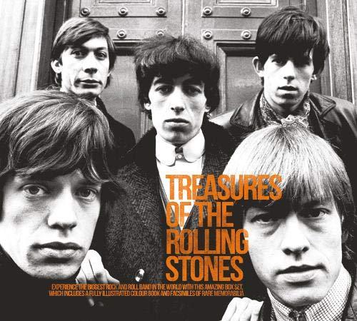 9781847328502: Treasures of Rolling Stones