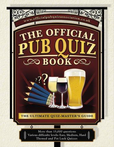 Pub Quiz Book: The Ultimate Quiz-Master's Guide: Sue Preston