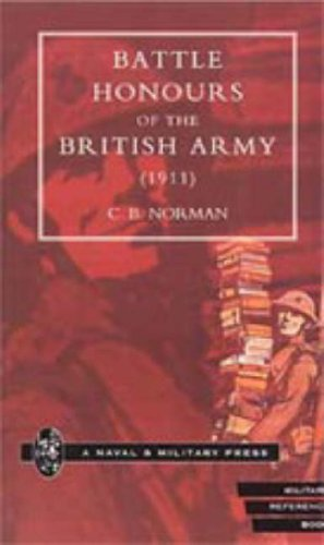 9781847341709: Battle Honours of the British Army (1911)