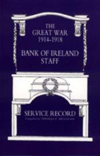 9781847342614: GREAT WAR 1914-1918 BANK OF IRELAND STAFF SERVICE RECORD