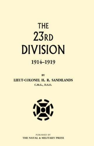 9781847343031: Twenty-Third Division 1914-1919