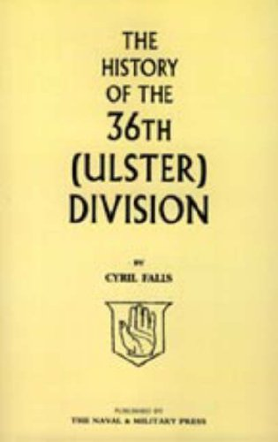 9781847343260: History of the 36th (Ulster) Division