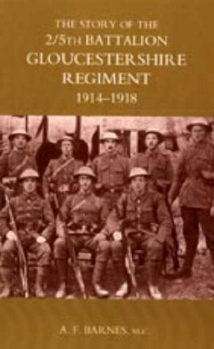 9781847343796: Story of the 2/5th Battalion the Gloucestershire Regiment 1914-1918