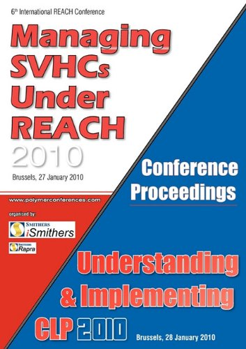 Svhc Clp 2010 Conference Proceedings