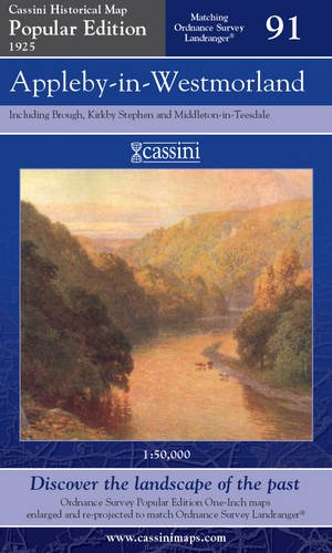 Appleby-in-Westmorland (Cassini Popular Edition Historical Map)