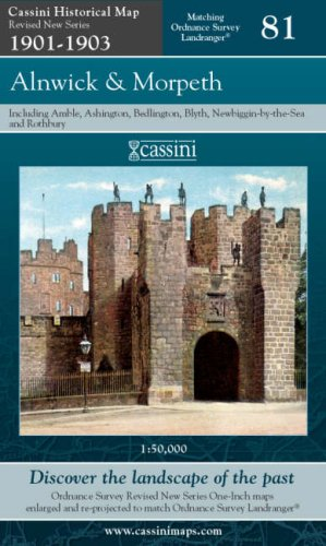 Alnwick and Morpeth (Cassini Revised New Series