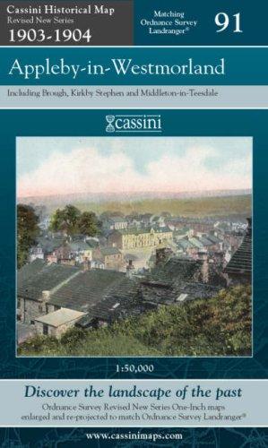 Appleby-in-Westmorland (Cassini Revised New Series Historical Map): Cassini Publishing Ltd