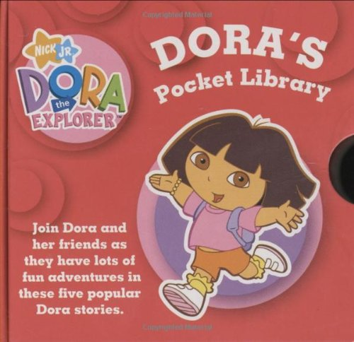 9781847381507: Dora's Pocket Library: WITH Dora's Opposites AND Count with Dora AND Dora Goes for a Ride AND Dora's Book of Words AND Dora at the Beach (Dora the Explorer)