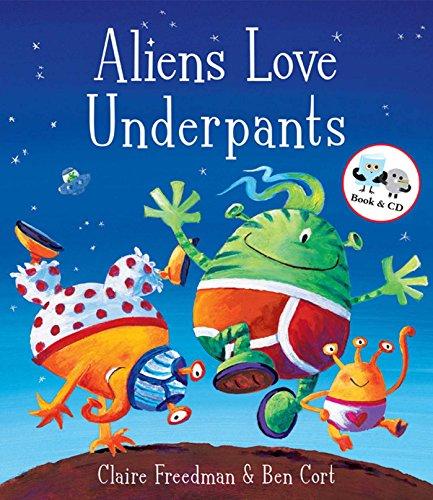 9781847383600: Aliens Love Underpants (Book & CD)